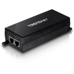 Inyector poe trendnet tpe-115gi/ 802.3af/at/ 2 rj45 hembra