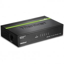 Switch trendnet teg-s50g 5 puertos/ rj-45 gigabit 10/100/1000