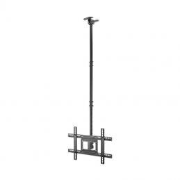 Soporte de techo giratorio/ inclinable/ extensible aisens ct80tse-075 para tv de 37-80'/ hasta 50kg