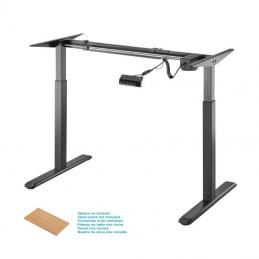 Soporte de escritorio motorizado aisens df01b-079/ hasta 80kg
