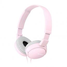 Auriculares sony mdr-zx110ap/ con micrófono/ jack 3.5/ rosas