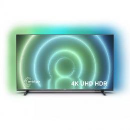 Televisor philips 65pus7906 65'/ ultra hd 4k/ ambilight/ smart tv/ wifi/ gris