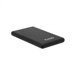 Caja externa para disco duro de 2.5' tooq tqe-2533b/ usb 3.1/ incluye adaptador usb-a a usb-c