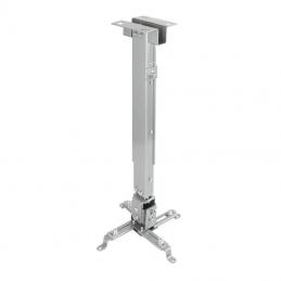 Soporte de techo para proyector tooq pj2012t-s/ inclinable-nivelable/ hasta 20kg