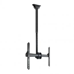 Soporte de techo giratorio/ inclinable/ nivelable tooq lpce1170tsli-b para tv de 37-70'/ hasta 50kg