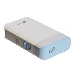 Mini impresora de etiquetas leotec easy organizer/ térmica/ ancho etiqueta 15mm/ bluetooth/ azul y blanca