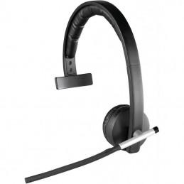 Auricular inalámbrico logitech h820e/ con micrófono/ usb/ radiofrecuencia/ negro