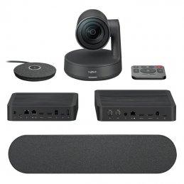 Sistema de videoconferencia logitech rally/ campo de visión 82º/ 4k