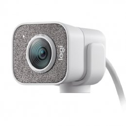 Webcam logitech streamcam/ enfoque automático/ 1920 x 1080 full hd/ blanca