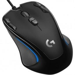 Ratón gaming logitech g300s/ hasta 2500 dpi