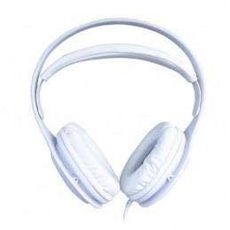 Auriculares fonestar x8/ con micrófono/ jack 3.5/ blancos