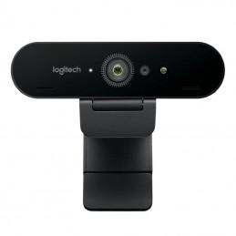 Webcam logitech brío stream/ enfoque automático/ 4k