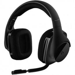 Auriculares inalámbricos logitech g533/ con micrófono/ usb/ negros