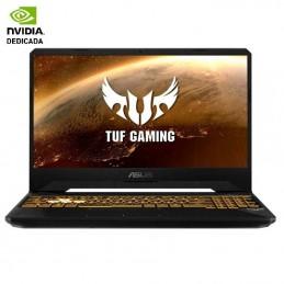 Portátil gaming asus tuf fx505dt-hn503 ryzen 7 3750h/ 16gb/ 512gb ssd/ geforce gtx1650/ 15.6'/ freedos