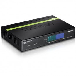 Switch trendnet tpe-tg44g 8 puertos/ rj-45 gigabit 10/100/1000 poe