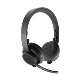 Auriculares inalámbricos logitech zone 900/ con micrófono/ bluetooth/ usb/ negros