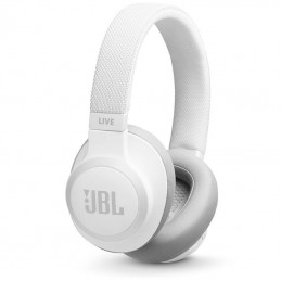 Auriculares inalámbricos jbl live 650btnc/ con micrófono/ bluetooth/ jack 3.5/ blancos