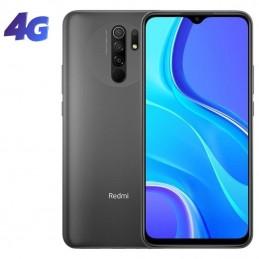 Smartphone xiaomi redmi 9 nfc 4gb/ 64gb/ 6.53'/ gris carbón