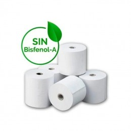 Rollo papel térmico genérico 80x80 8u bpaf/ 80 x 80mm/ 8 unidades