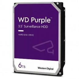 Disco duro western digital wd purple surveillance 6tb/ 3.5'/ sata iii/ 128mb