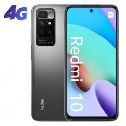 Smartphone xiaomi redmi 10 nfc 4gb/ 128gb/ 6.5'/ gris carbón