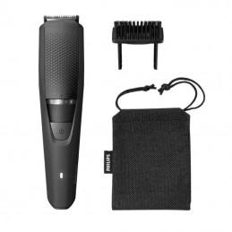 Cortabarbas philips beardtrimmer series 3000 bt3226/14/ con batería/ 4 accesorios