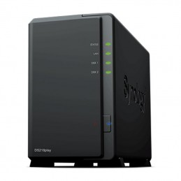 Nas synology diskstation ds218play/ 2 bahías 3.5'- 2.5'/ 1gb ddr4/ formato torre