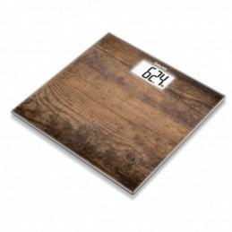 Báscula de baño beurer gs-203 wood/ hasta 150kg