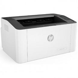 Impresora láser monocromo hp 107w wifi/ blanca