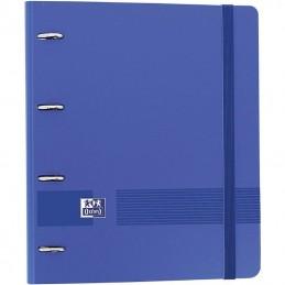 Archivador con recambio oxford live & go europeanbinder 400131298/ a4+/ 100 hojas/ azul marino