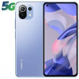 Smartphone xiaomi 11 lite ne 8gb/ 128gb/ 6.55'/ 5g/ azul chicle