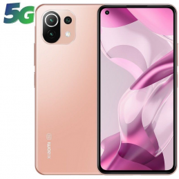 Smartphone xiaomi 11 lite ne 8gb/ 128gb/ 6.55'/ 5g/ rosa melocotón