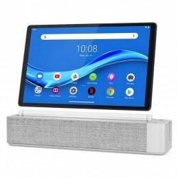 Tablet lenovo smart tab m10 fhd plus 10.3'/ 4gb/ 64gb/ gris platino/ incluye smart dock