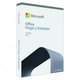 Microsoft office hogar y empresas 2021/ 1 usuario/ licencia perpetua