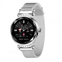 Smartwatch innjoo lady crystal/ frecuencia cardíaca/ plata