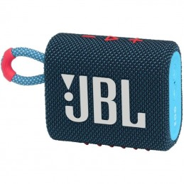 Altavoz con bluetooth jbl go 3/ 4.2w/ 1.0/ azul rosa