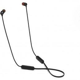 Auriculares inalámbricos intrauditivos jbl tune 115bt/ con micrófono/ bluetooth/ negros