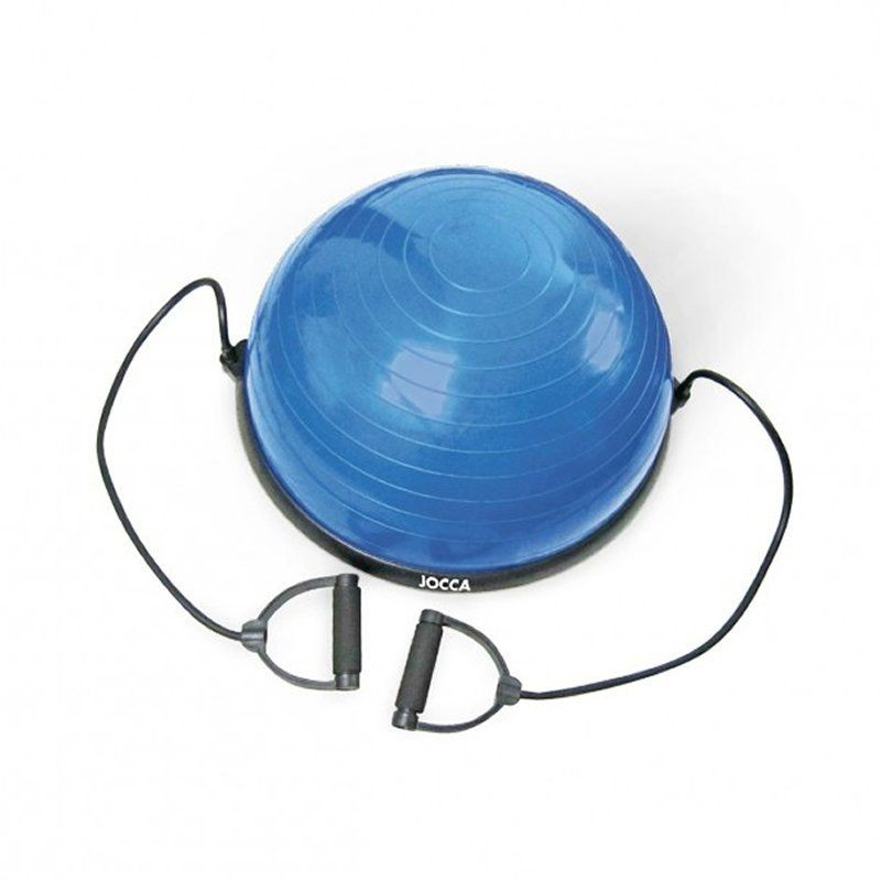Bola de equilibrio fitness jocca 6215/ azul