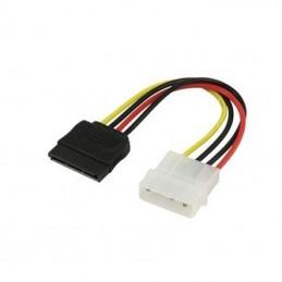 Cable adaptador alimentación molex a conector sata 3go cpsata/ 15cm
