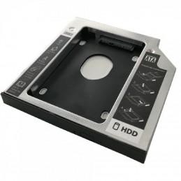 Adaptador dvd a disco hd/ssd 3go hddcaddy127/ incluye destornillador y tornillos