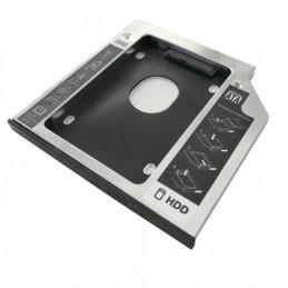 Adaptador dvd a disco hd/ssd 3go hddcaddy95/ incluye destornillador y tornillos