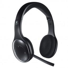 Auriculares inalámbrico logitech h800/ con micrófono/ bluetooth/ negro