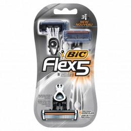 Cuchilla de afeitar bic flex 5/ 3 uds