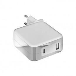 Cargador de portátil mars gaming mna2 white/ 90w/ automático/ 6 conectores/ usb tipo-c/ voltaje 5-20v