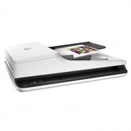 Escáner documental hp scanjet pro 2500 f1 con alimentador de documentos adf/ doble cara