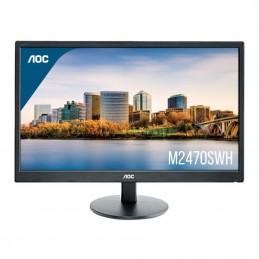 Monitor aoc m2470swh 23.6'/ full hd/ multimedia/ negro