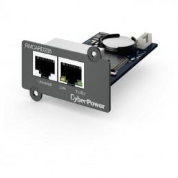 Tarjeta gestión remota cyberpower rmcard205/ rj45/ compatible con envirosensor