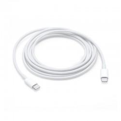 Cable de carga usb 2.0 apple mll82zm/a de conector usb tipo-c a usb tipo-c/ para macbook/ 2m