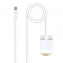 Cable mini displayport a vga nanocable 10.15.4102 - mini displayport/macho - vga/macho - 2m - blanco