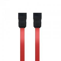 Cable alimentación sata nanocable 10.18.0101-oem/ 0.5m/ rojo